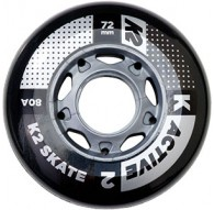 Kółka K2 72 MM ACTIVE WHEEL 4-PACK