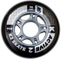 Kółka K2 76 MM ACTIVE WHEEL 4-PACK