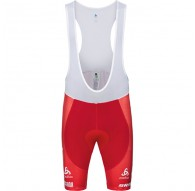 Spodnie tech. męskie Odlo Tights short suspenders SCOTT SRAM RACING C/O