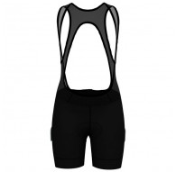 Spodnie tech. damskie Odlo FUJIN Tights short suspenders C/O