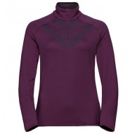 Bluza Odlo Midlayer 1/2 zip CARVE WARM KINSHIP - 592901/30468