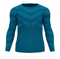 Koszulka tech. męska Odlo BL TOP Crew neck l/s KINSHIP LIGHT - 110932/20389