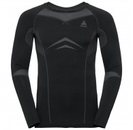 Koszulka tech. męska Odlo Performance Evolution Warm Suw Top Crew Neck L/S  C/O - 195792/60056