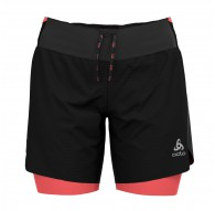 Spodnie tech. damskie Odlo 2-in-1 Shorts AXALP TRAIL 6 INCH - 322551/60245
