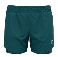Spodnie tech. damskie Odlo 2-in-1 Shorts RUN EASY 5 INCH - 322591/40345