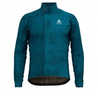 Bluza tech. męska Odlo Midlayer full zip ZEROWEIGHT CERAMIWARM C/O - 411642/20741